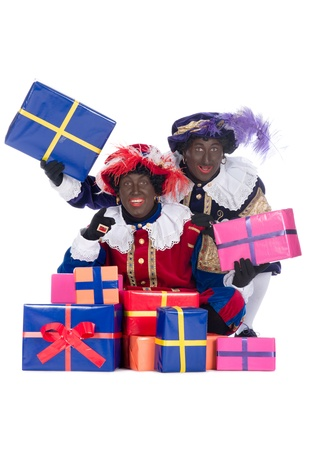black pete: Zwarte Piet is a character, part of a  Dutch tradition called  Sinterklaas , which is celebrated at December the fifth