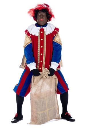 """Zwarte Пит это символ, часть голландской традиции называется """"Синтерклаас"""", который отмечается на декабрь пятый."""