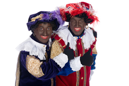 piet: Zwarte Piet is a character, part of a  Dutch tradition called  Sinterklaas , which is celebrated at December the fifth