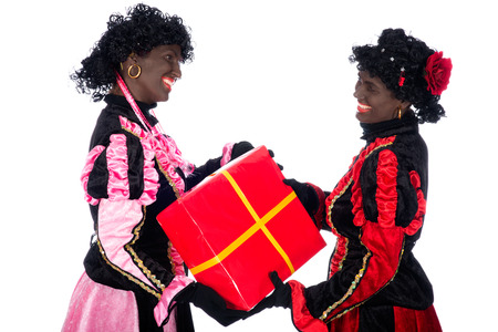 black pete: Zwarte Piet (Black Pete) is a character, part of a  Dutch tradition called Sinterklaas, which is celebrated at December the fifth.