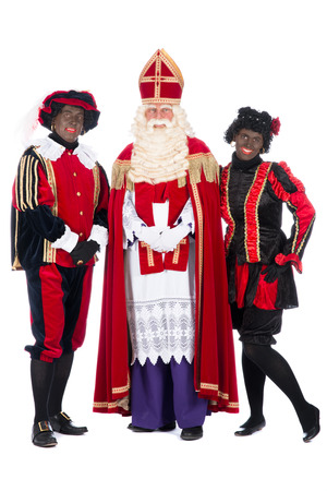 studioshoot: Zwarte Piet (Black Pete) is a character, part of a  Dutch tradition called Sinterklaas, which is celebrated at December the fifth.