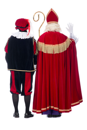 Zwarte Piet (Black Pete) is a character, part of a  Dutch tradition called Sinterklaas, which is celebrated at December the fifth. photo