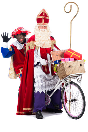 Zwarte Piet (Black Pete) is a character, part of a  Dutch tradition called Sinterklaas, which is celebrated at December the fifth.