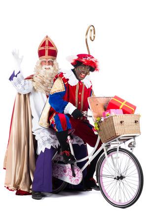 """Zwarte Пит (черный Пит) является персонаж, часть голландской традиции называется """"Sinterklaas"""", который отмечается на декабрь пятый. Фото со стока"""