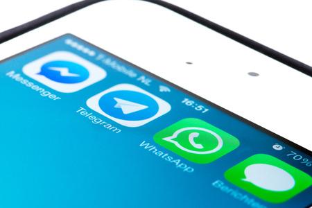 telegrama: Aplicaci�n Telegram crece r�pidamente despu�s de Whatsapp sido comprada por Facebook Editorial