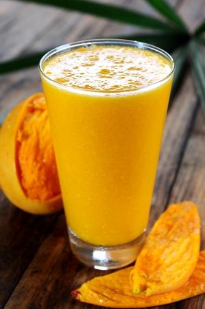mango fruta: Jugo de mango