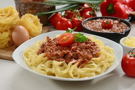 fettuccine: Fettuccine pasta