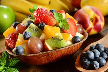 nutritive: Fruit salad bowl