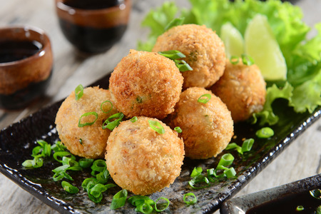 Salmon balls