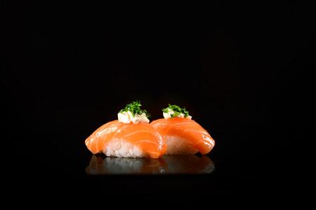 nigiri sushi Stock Photo