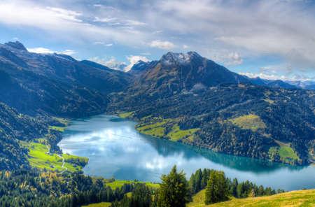 Scenic view of the Bockmattli, Switzerland