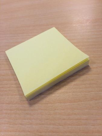 Sticky notes  版權商用圖片