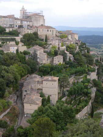 France, Provence, Village of Gordes 版權商用圖片