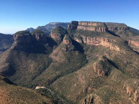 Three Rondawels in Mpumalanga Province, South Africa