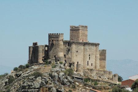 Belvis de Monroy castle in Caceres