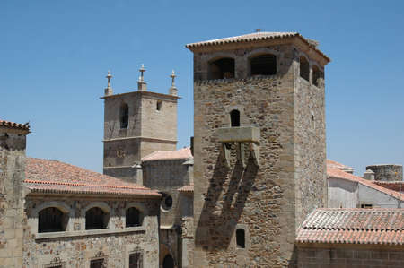 Matacanes in tower of the Palace of the Golfines de Abajo