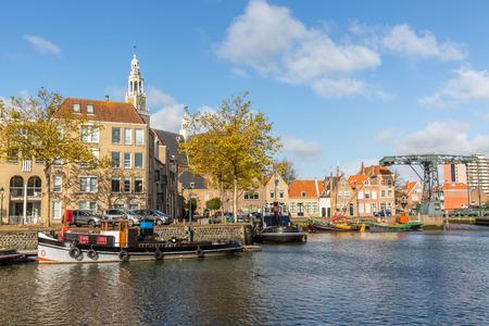 Harbor of Maassluis, The Netherlands