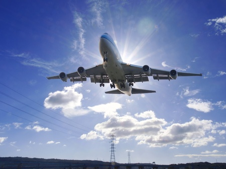 Airplane take off Stock Photo - 9397390