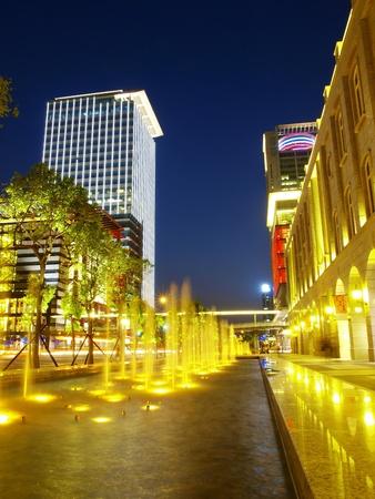 Night scene in Taipei photo