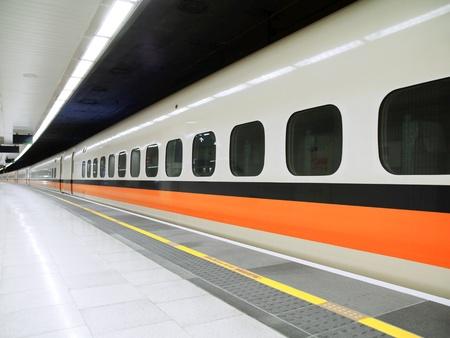 bullet train: High speed railway station