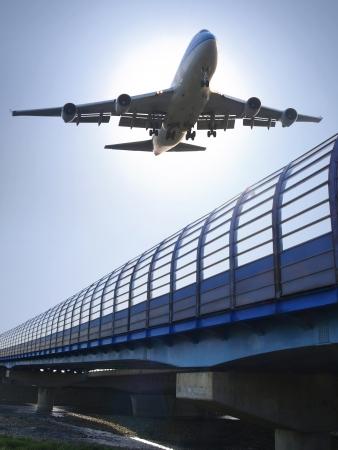 aircraft take off: Airplane landing