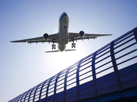 Vliegtuig opstijgen