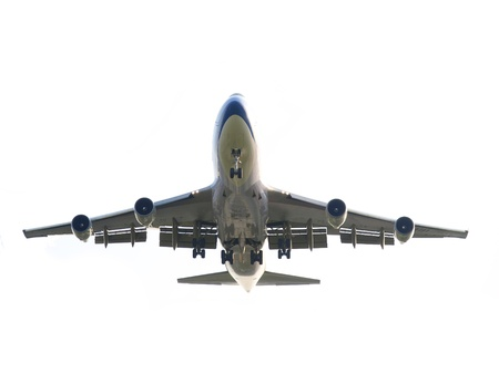 Isolated airplane Stock Photo - 9521262