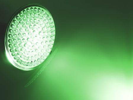 componentes: Bombilla de luz LED
