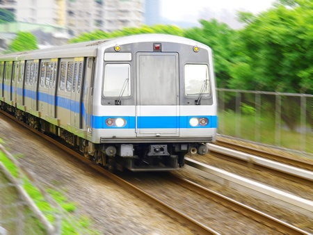 Taiwan mass rapid transit Stock Photo - 10348212