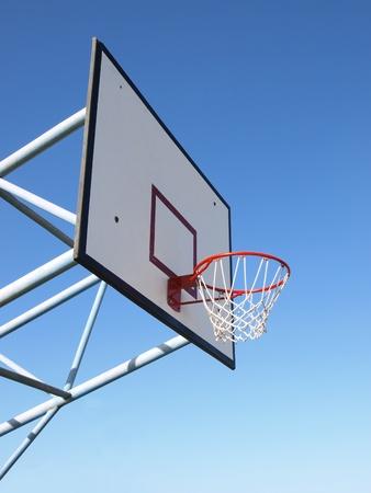 Basketball rim and net Stock Photo - 10378256