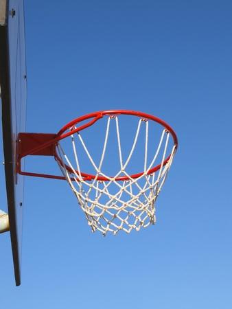 Basketball rim and net Stock Photo - 10378266