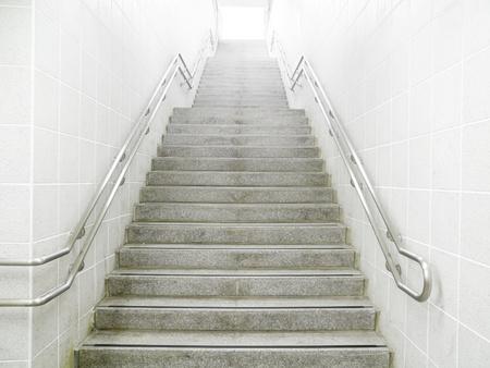 schody: Schody w przejściu podziemnym