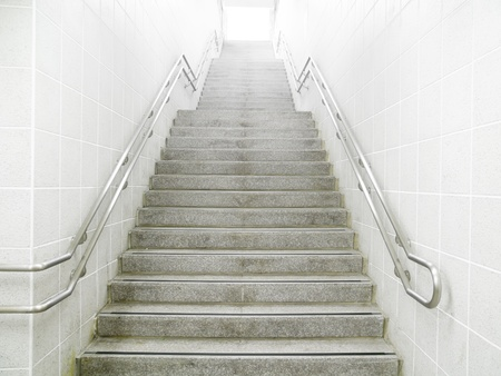 Staircase in underground passage Stock Photo - 10802369