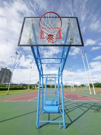 Outdoor basketball court Stock Photo - 10802368