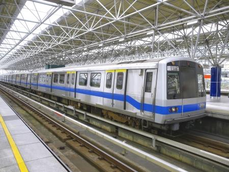 estacion de tren: Misa de tránsito rápido