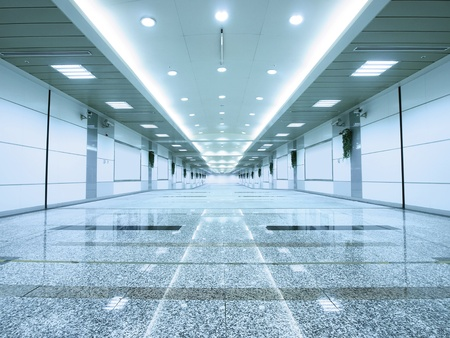 La entrada del metro