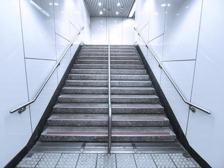 underground passage: Staircase in underground passage