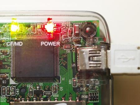 mmc: Memory card reader working