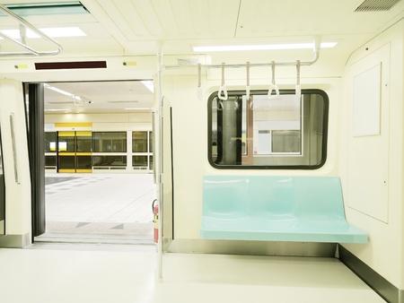 Carriage of  subway train photo