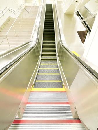 Long escalator and staircase Stock Photo - 12269140
