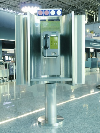 Public phone in airport photo