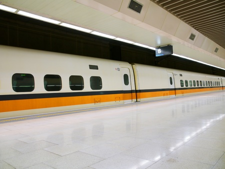 bullet train: High speed railway station
