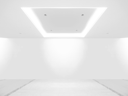 Empty gallery Stock Photo - 12428080