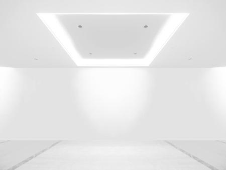 shiny floor: Empty gallery