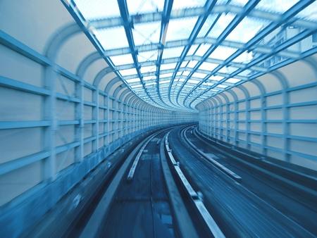 Tunnel of railway photo