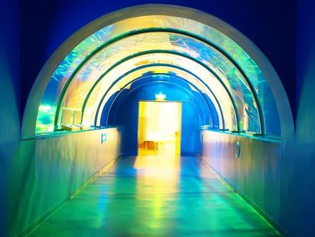 passageway: Colorful passageway