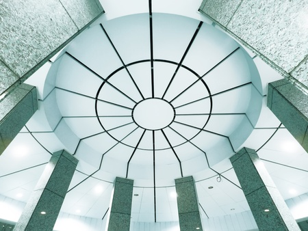 housetop: Ceiling of modern building