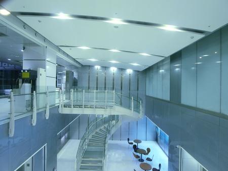 현대적인 건물의 인테리어 스톡 콘텐츠