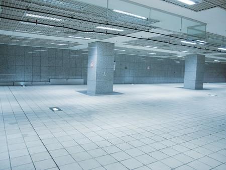 ceiling tile: Underground passage