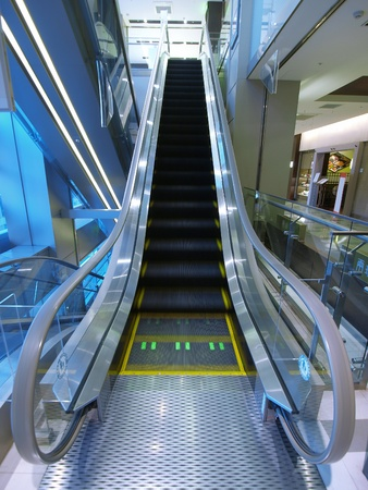 Escalator in department store Stock Photo - 12777187